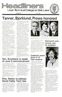 SLCC Administrative Newsletters 1977-05