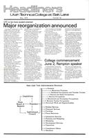 SLCC Administrative Newsletters 1979-05