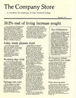 SLCC Administrative Newsletters 1979-09