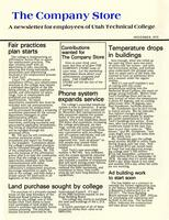 SLCC Administrative Newsletters 1979-11
