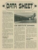 SLCC Administrative Newsletters 1973-09