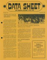 SLCC Administrative Newsletters 1973-12