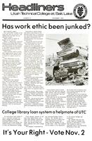 SLCC Administrative Newsletters 1976-11