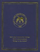 2002-05 Commencement - Salt Lake Community College
