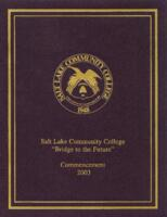 2003-05 Commencement - Salt Lake Community College