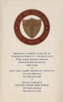 1962-09 Commencement - Salt Lake Trade Technical Institute, Nursing Program
