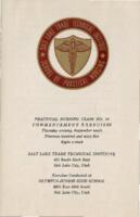 1965-09 Commencement - Salt Lake Trade Technical Institute, Nursing Program