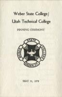 1978-05 Pinning Ceremony - Utah Technical College and Weber State College