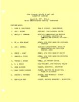 UTC Graduation Comments - Outline and Lamplighter Anecdote, August 27, 1971