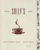 Sully's Breakfast and Dinner Menu