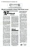 Moody's presents a lively Cole Porter Review