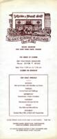 The Musso and Frank Grill Luncheon and Dinner Menu