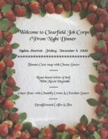 Welcome to Clearfield Job Corps at Ogden Marriot 1st Prom Night Dinner