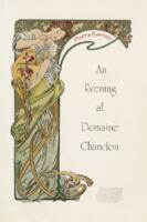 An Evening at Domaine Chandon