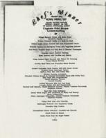 Chef's Dinner Aboard the Royal Viking Sky Grand Pacific Voyage Sunday, March 10, 1991