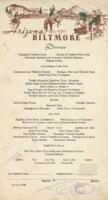 Arizona Biltmore Hotel Dinner Menu