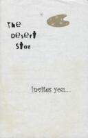 Desert Star Dinner Menu