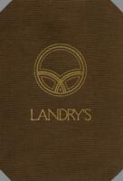 Landry's Luncheon and Dinner Menu
