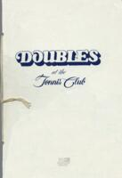 Doubles at the Tennis Club Dinner Menu