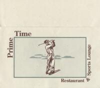 Prime Time Restaurant and Sports Lounge Menu