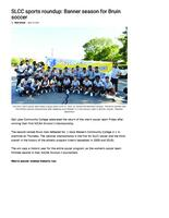 SLCC Student Newspapers 2021-06-14