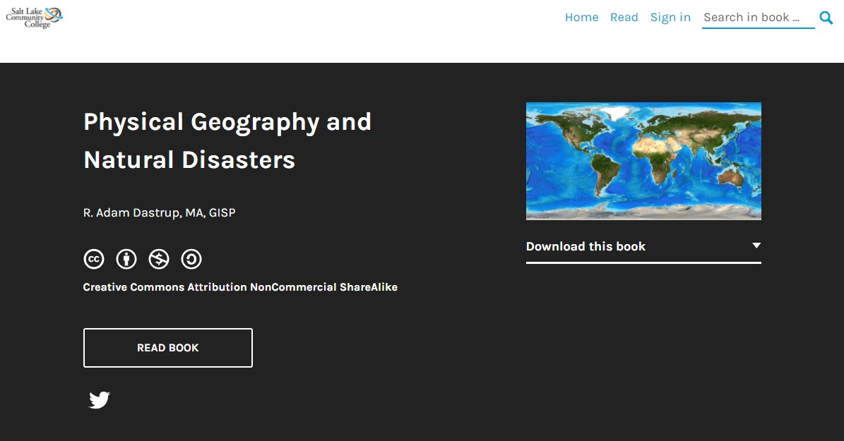 Physical Geography and Natural Disasters