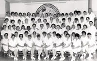 Graduation photo, Licensed Practical Nursing, 1966, September