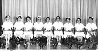 Graduation photo, Licensed Practical Nursing, 1958, June