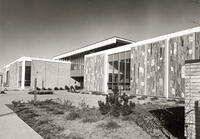 Northwest exterior of the Applied Technology Center, circa 1968