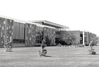 Northern exterior of the Applied Technology Center, circa early 1970s