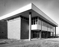 North Exterior of the Automotive Trades Building, 1967