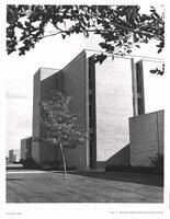 West side of the Nelson Administration Building about the mid 1970s