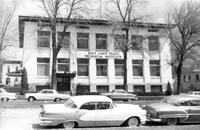 West side of the Salt Lake Trade Technical Institute school building, April 1962.