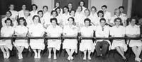 Class photo, Licensed Practical Nurses refresher course, 1949, May