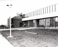 North side of the Construction Trades Building, late 1976