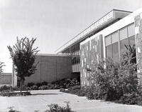 Northwest exterior of the Applied Technology Center, circa 1973
