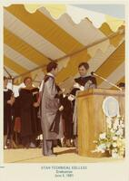 Utah Technical College Graduation Ceremony, 1981