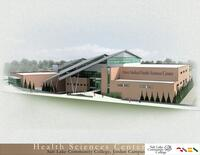 Architectural Renderings of the Health Sciences Center