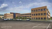 Architectural Renderings of the Instruction and Administration Building