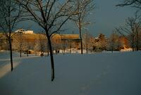 Taylorsville Redwood Campus in Winter, 1989-1992