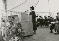 Commencement June 1991 In Black And White