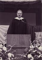 Commencement, Black And White, May 1999