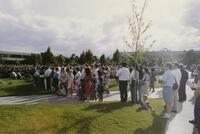 Commencement In The Quad June 1992