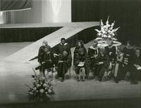 Commencement at SLCC 1985