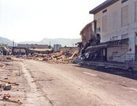 Demolition of Utah Tech Buildings at the 400 South 600 East Campus, 1986