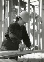 Female Construction Student