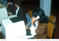 First Telephone Registration, Fall 1984