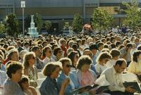 Graduation On Quad June 1988