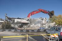 Images of the Demolition of the Automotive Trades Building