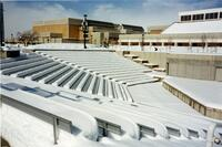 Snow Covered Alder Amphitheater Winter 1998